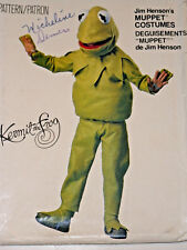 V-8476 Kermit the Frog Costume Sewing Pattern Vogue Child Size 2/4-6/8-10/12