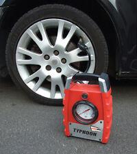 Typhoon 12v Hi Speed Tyre & Object Inflation Air Compressor for PSI & BAR #10