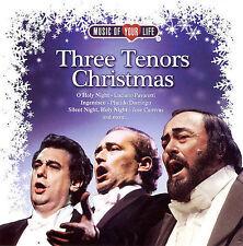 Three Tenors Christmas by Luciano Pavarotti, Jose Carreras, Placido Domingo CD