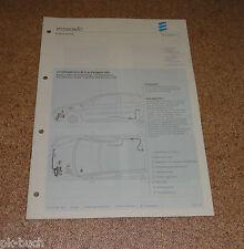Einbauanleitung Eberspächer Standheizung D 5 W S für Peugeot 206 Stand 04/2001