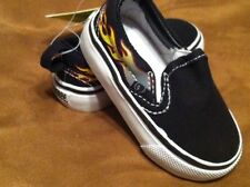 NWT~GYMBOREE~TURBO CHARGE~FLAME~CASUAL~SHOE~TODDLER~6~SLIP ON