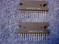IC MITSUBISHI M 51517L ONE  Amplifier Integrated Chip PC Circuit Board Vintage