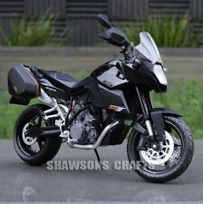 Diecast Motorcycle Model Toys 1:12 Ktm 990 Smt Supermoto T Sport Bike Replica