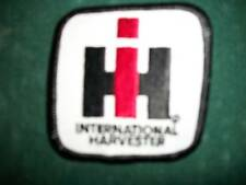 IH, INTERNATIONAL, IRON ON EMBROIDERED CLOTH PATCH, NEW