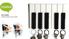 KEY RING QUALY KEY PIANO WHISTLE 5 POSITIONS & KEY HOLDER HOME DECOR