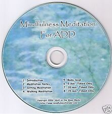 Mindfulness Meditation for Add audio Cd Katherine Wolfe