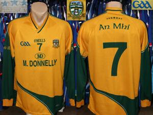 An Mhi Meath Gaa O'Neills Tight Fit #7 Away Jersey Shirt Longsleeve Gaelic Eire