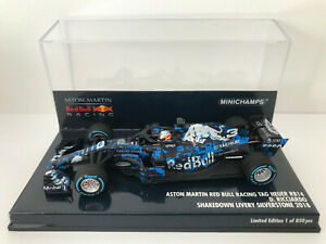 1:43 Minichamps 2018 F1 #3 Red Bull RB14 (Daniel Ricciardo - Shakedown Livery)
