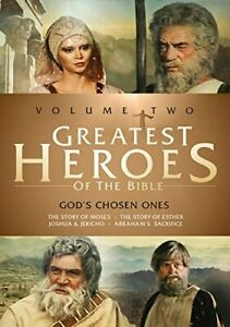 GREATEST HEROES OF THE BIBLE: VOLUME TWO / NEW DVD