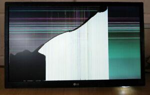 "LG 22M37A 22"" LED Monitor BROKEN SCREEN SPARES REPAIR FAULTY 813 814"