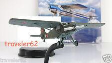 YAK-12 multirole plane diecast model +magazine №26 Russian USSR AIRCRAFT