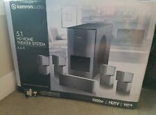 New Open Box Kamron Audio Ka-9 5.1 Hd/ Home Theater Surround Sound System