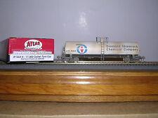 ATLAS #1554-4 Diamond Shamrock 17,360 Gallon Tank Car #85566 Weathered H.O.Gauge