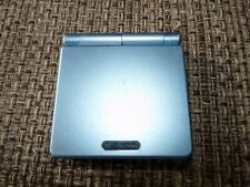 Nintendo Game Boy Advance SP  Pearl Blue Backlit AGS 101  Brighter Screen NICE