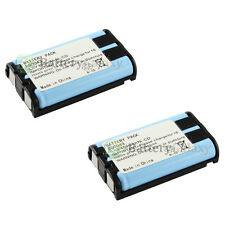2 NEW Home Phone Battery for Panasonic HHR-P104 HHR-P104A/1B Type 29 1,100+SOLD