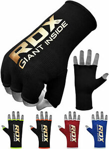 RDX Boxing Hand Wraps Elasticated Inner Gloves MMA Fist Protection Muay Thai