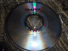 TRAFFIC NOWHERE IS THEIR FREEDOM CD SINGLE 1994 PROMO SPAIN