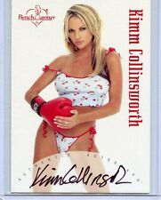 2002 BENCHWARMER KIMM COLLINSWORTH AUTOGRAPH