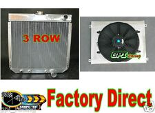 RADIATOR +shroud+fan FOR FORD MUSTANG,MERCURY COUGAR 289,302,351 W/O AC V8 67-69