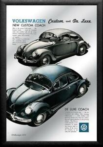 VW Volkswagen Beetle Coach Mirror Wall Mirror BAR 11 13/16in