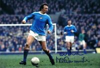 Signed Mike Summerbee Manchester City Autograph Photo Swindon Burnley Stockport