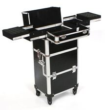 Cosmetic makeup nail hairdressing beauty vanity hair trolley case box storage BC