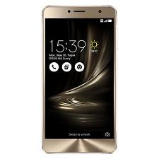 ASUS Zenfone 3 Deluxe Zs550kl 64gb Silver 4g LTE Unlocked AU Phone
