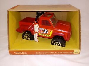 RARE 1980 Tonka #2008 ENDURO OFF ROAD RACE Dodge Pick Up Truck NRFB with figure