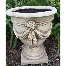 48cm White Urn Planters Pots Urns Garden ornaments pot
