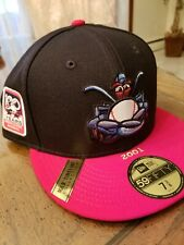 Lakewood Blue Claws New Era Fitted Hat, Limited Edition 100 Yea Patch