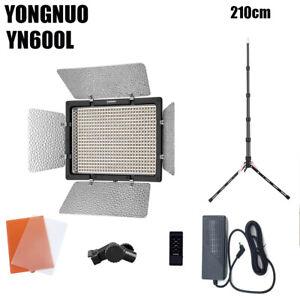 YONGNUO YN600L LED Video Light Remote Photography Studio Lighting Kit 5500K