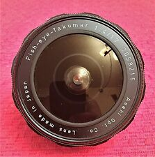 ASAHI M42 F/4 17MM FISH-EYE-TAKUMAR ULTRA WIDE ANGLE LENS  FOR PENTAX - MINT