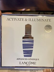 4pcs Lancome Advanced Genifique Activate & Illuminate Boxed Set New