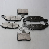 Front+Rear Disc Brake Pads Fit For Suzuki GSF650 2005-2006 GSF 650 Bandit 05 New