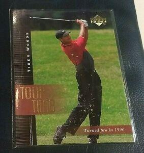 2001 Upper Deck Golf #176 Tiger Woods Beautiful original Near Mint - MINT card 6