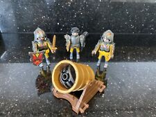 Playmobil Warrior Knights And Cannon