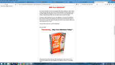 Stop Addictions Business For Sale w/ Software & Sales Website