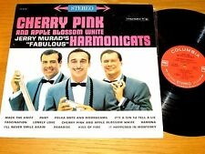 "STEREO POP LP - HARMONICATS - COLUMBIA 8356 - ""CHERRY PINK AND APPLE BLOSSOM..."""