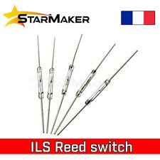 Interrupteur à lames souples REED switch ILS magnétique 14 mm