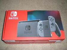 Nintendo Switch V2 Console with Gray Joy-Con Brand New Grey - FAST SHIP IN HAND!