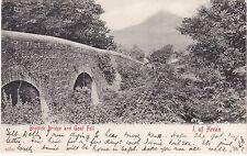 The Bridge & Goat Fell, BRODICK, Isle Of Arran