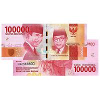 100,000 Indonesian Rupiah Banknote 2016 IDR Uncirculated