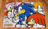 Sega Sonic Advance / Nintendo Gamecube Console rare Poster 56x40cm Game Boy GBA