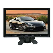 "10.1"" para Coche TFT LCD Monitor closed-circuit pantalla de televisión HDMI/VGA/Audio Video 2014x600 para PC DVD 12V-24V"
