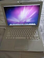 "Apple MacBook White 13.3""  Snow Leopard IOS, 2007. Warranty."