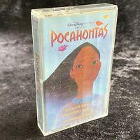 Pocahontas An Original Walt Disney Records Soundtrack Cassette Wonderland 1995
