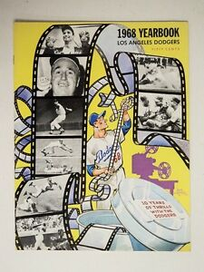 1968 Los Angeles Dodgers Yearbook Koufax Drysdale Grant - FLASH SALE