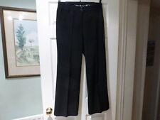 Per Una Fine Needle Cord Black Trousers Size 8