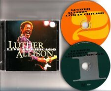Luther Allison -Live In Chicago 2-CD -Blues Guitar/Soul Fixin Man (Ruf Records)