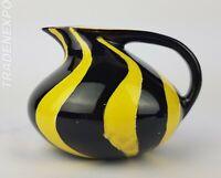 Vintage 60's/70's SCHMIDER KERAMIK Jug Vase 95 West German Pottery Fat Lava